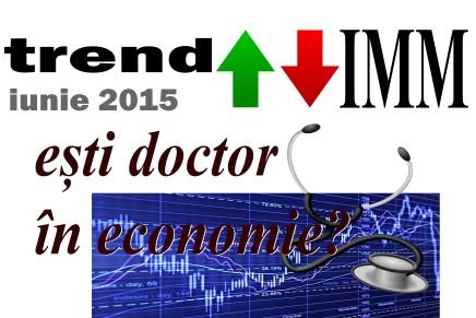 Invitatie: Indicele de Incredere al IMMurilor ~ IUNIE 2015