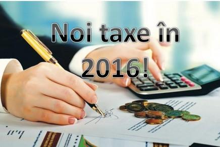Ce taxe pregateste Guvernul pentru 2016