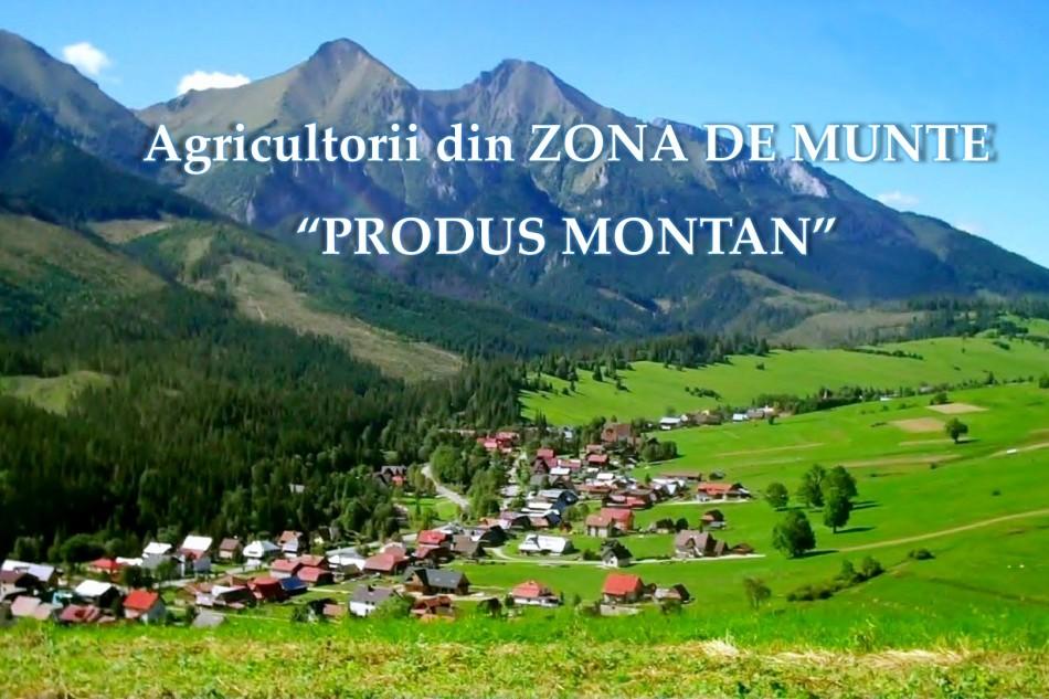 """Agricultorii din zona de munte pot opta pentru  inscriptionarea distincta """"produs montan"""""""