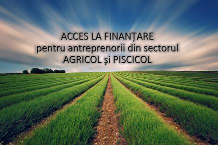 Masuri pentru asigurarea accesului la finantare a producatorilor agricoli