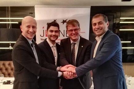 Florin Jianu ales in functia de presedinte de onoare al  Uniunii Europene a Tinerilor Intreprinzatori – JEUNE