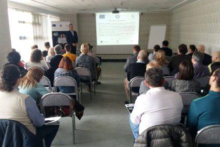 CNIPMMR a organizat un eveniment de informare in cadrul proiectului Viitor PLUS – antreprenori pentru dezvoltare!
