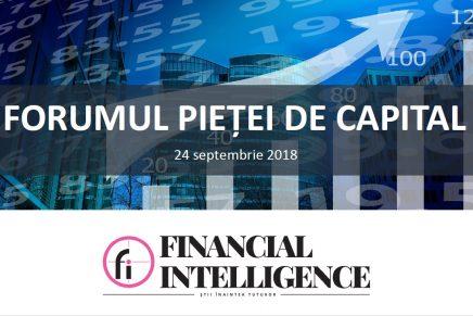 Forumul pietei de capital, 24 septembrie 2018
