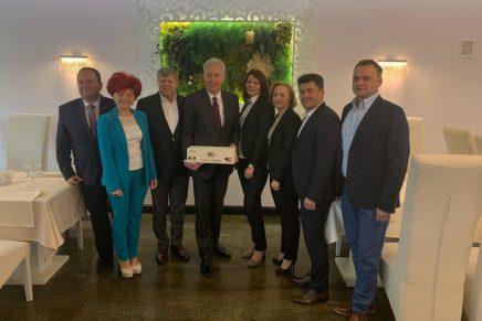 Ambasadorul SUA Hans Klemm s-a întâlnit cu reprezentanți  ai mediului de afaceri din Satu Mare