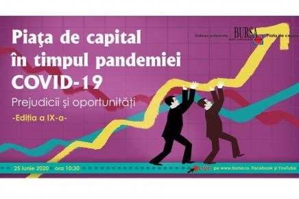 Piata de capital in timpul pandemiei COVID-19  – Prejudicii si oportunitati –