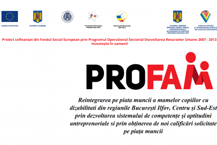 PRO F.A.M. – invitație București, 29 septembrie 2014