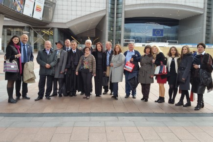 Vizita CNIPMMR la Parlamentul European
