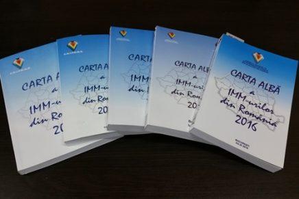 Aveti ocazia sa contribuiti la realizarea Cartei Albe a IMM-urilor din Romania, editia 2017!