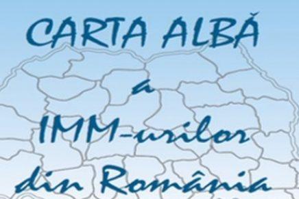 """Lansarea lucrarii """"Carta Alba a IMM-urilor din Romania 2017"""""""