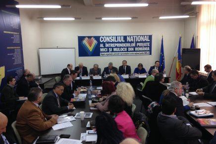 Presedintele Senatului, Calin Popescu Tariceanu,  prezent la sedinta bordului CNIPMMR