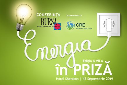 "Grupul de presa Bursa organizeaza o noua editie a conferintei ""Energia in priza"""