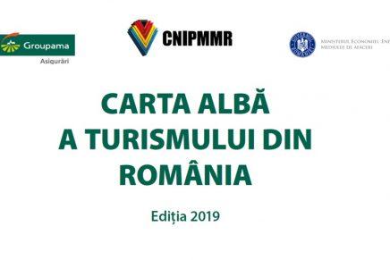 Lansarea lucrarii Carta Alba a Turismului din Romania, editia 2019